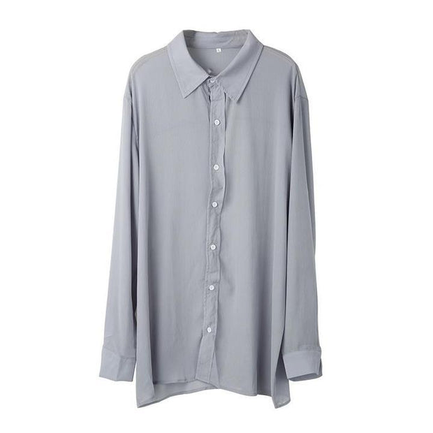 Men's Casual Loose Breathable Cotton Shirt
