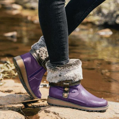 Women's Warm Lining Proof Snow Boots