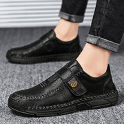 Men Fashion Leather Outdoor Flats Casual Shoes