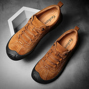 Men's Outdoor Leather Non-slip Hiking Casual Shoes