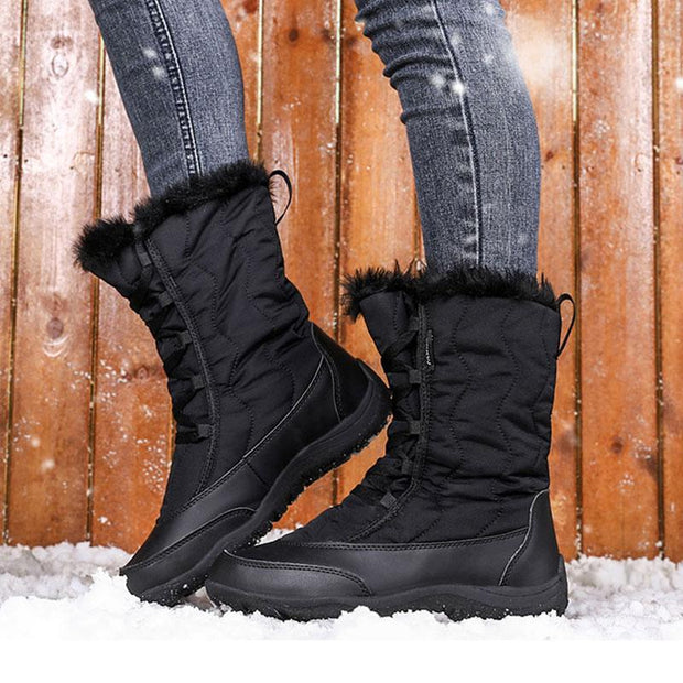 Women's Winter Thickened Warm Snow Boots