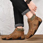 Men's High-top Shoes Casual Short Boots