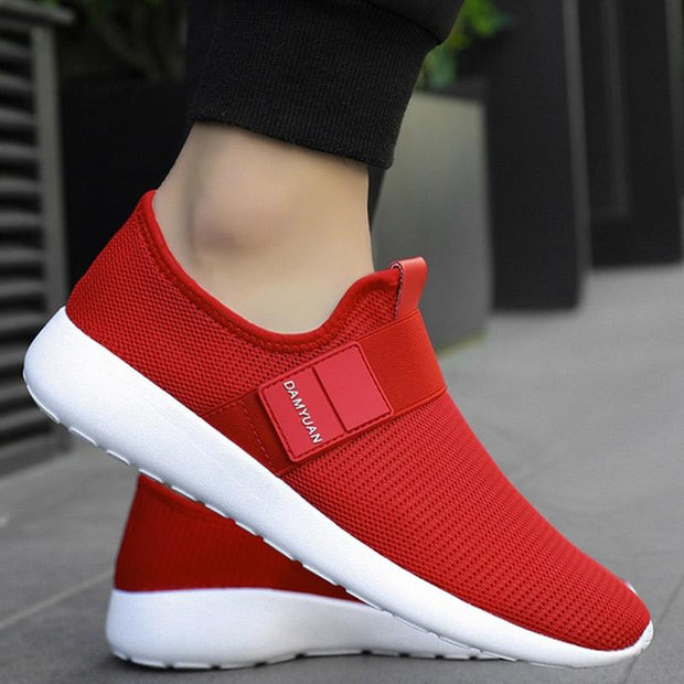 Men's Casual Lightweight Running Sport Shoes Breathable Flats Shoe