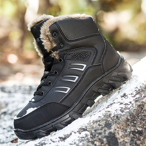 Outdoor Non Slip Thick Warm Snow Boots