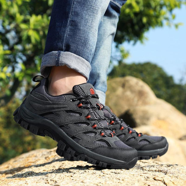 Men Hiking Sports Shoes Outdoor Sneakers Athletic Shoes