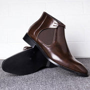 Men's Retro Fashion Leather Boots Ankle Boots