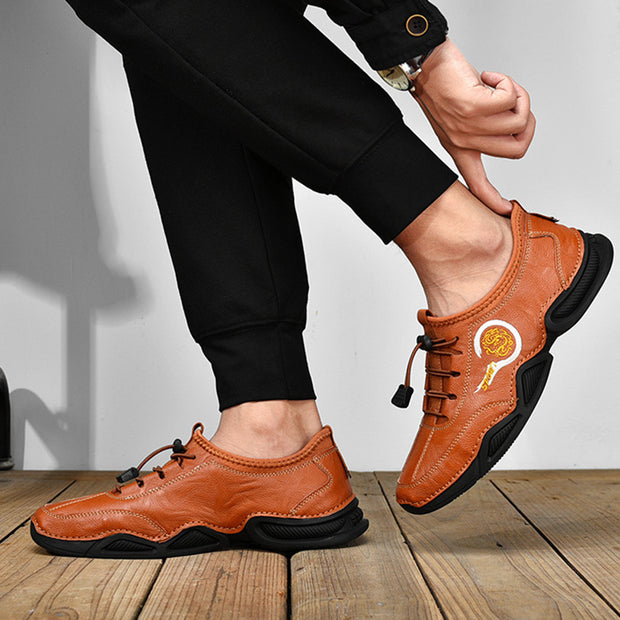 Men'S Genuine Leather Casual Shoes