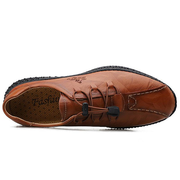 Men's Casual Large Size Leather Shoes