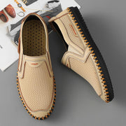 Men's Handmade Leather Breathable Casual Shoes