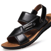 Men's Comfort Shoes Casual Outdoor Leather Breathable Rivet Sandals