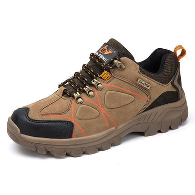 Men Suede Non Slip Wearable Outdoor Casual Hiking Sneakers