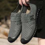 Men Hand-sewn Breathable Comfortable Leather Shoes