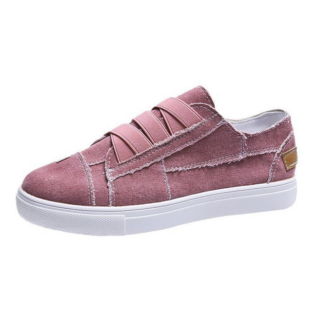 Sports Cloth Cover Casual Canvas Shoes Flats