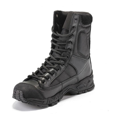 Men Military Style Tactical Boots Army Combat Wear Resistant Shoes
