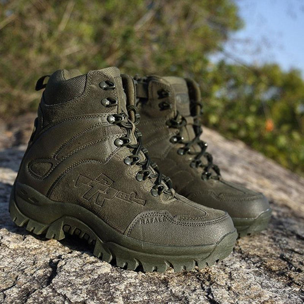 Outdoor Waterproof Tactical Military Boots for Men Army Combat Desert Boots Hiking Boots