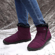 Waterproof Warm Lining Winter Snow Ankle Casual Women Boots