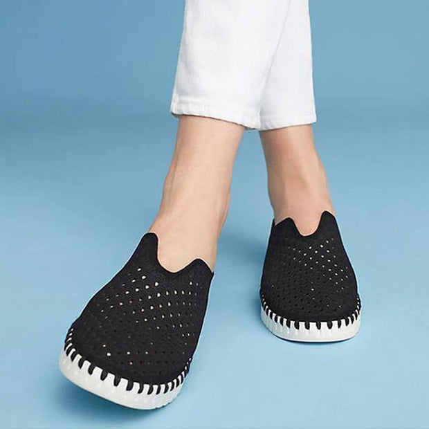 Women's Slip-On Mesh Compfy Flat Sneakers