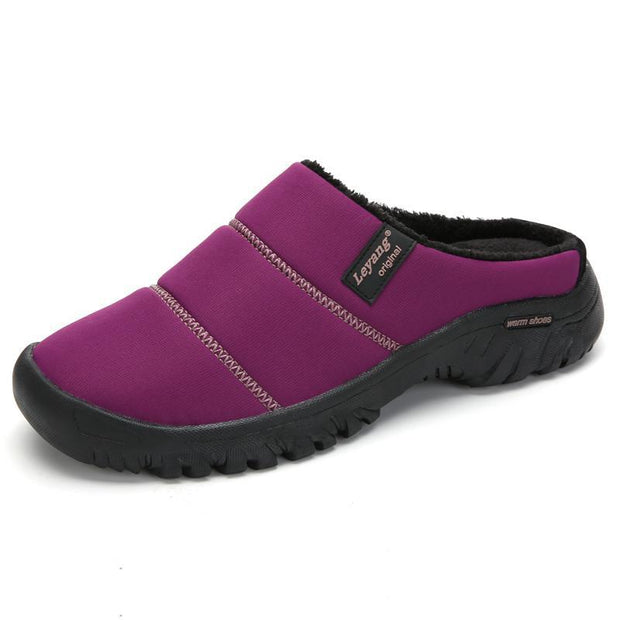 Women Waterproof Non-slip Slippers Home Shoes