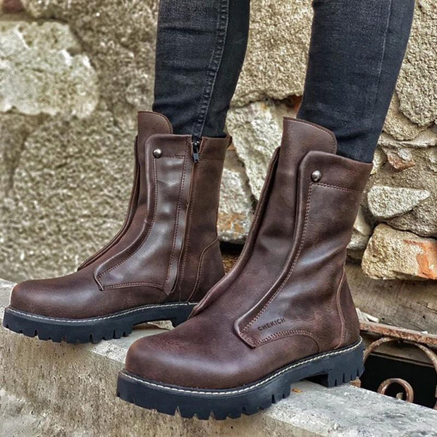 Men's Fashion Leather Boots