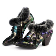 Women's Gorgeous Comfortable Fur Collar Warm Boots
