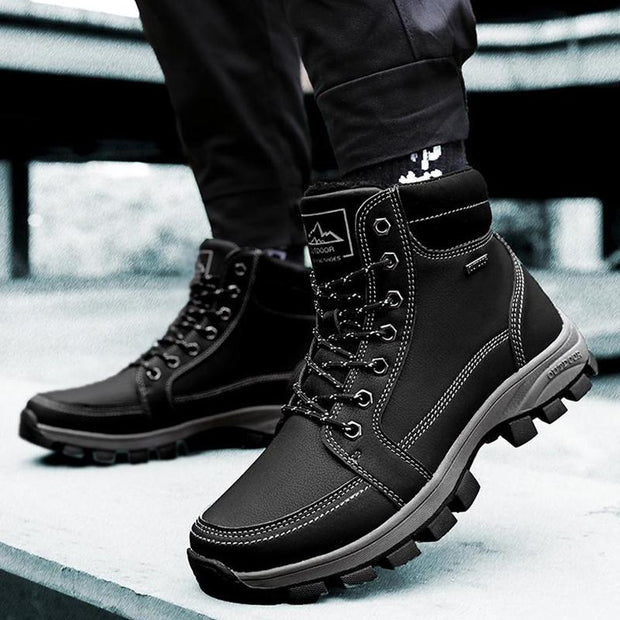 Men's Winter Velvet Outdoor Casual Hiking Boots