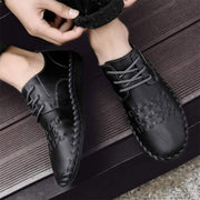 Men's Loafers Driving Shoes Lace-up Slip On Moccasins Walking Shoes