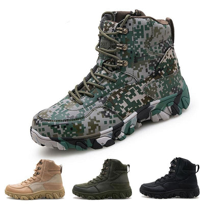 Men's Outdoor Hiking Waterproof Non-slip Combat Boots