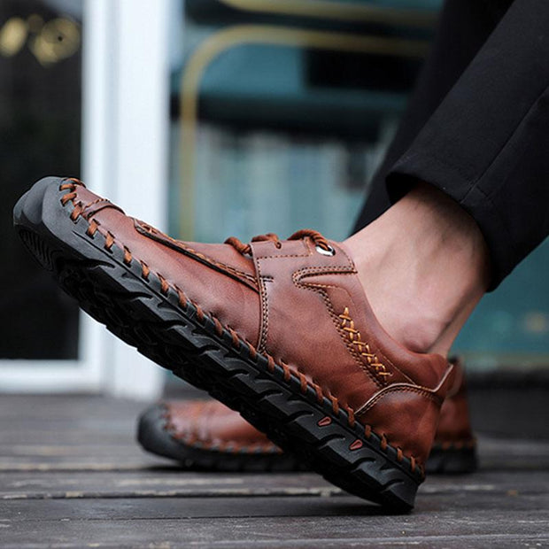 Men's Casual Leather Shoes Moccasins