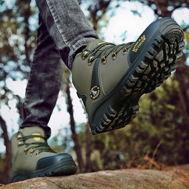 Men's Outdoor Non Slip High-Top Sneakers