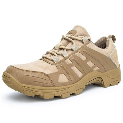 Mens Autumn Low-top Breathable and No-Slip Military Hiking Shoes