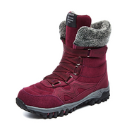 Woman Suede High Top Trekking Shoes