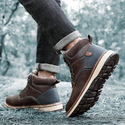 Men Winter Warm Non Slip Leisure Snow Boots