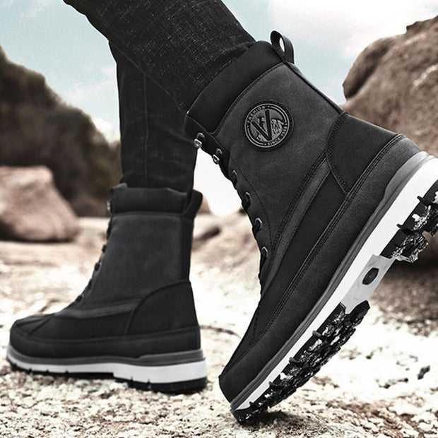 Men's Casual Warm High Top Snow Boots