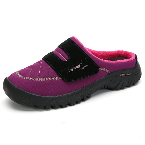 Women Warm Non-slip Indoor Cotton Slippers