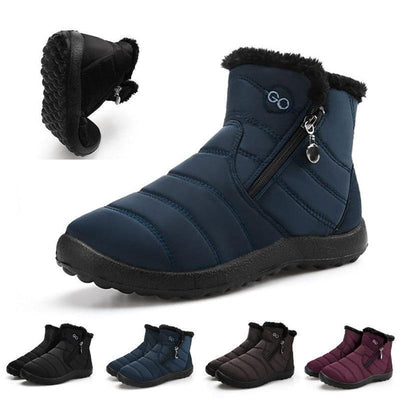 Women's Casual Outdoor Warm And Waterproof Snow Boots