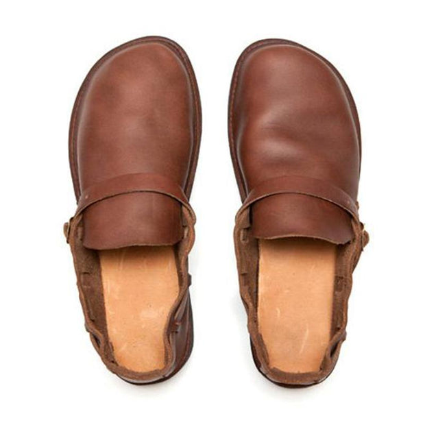 Men's Retro Handmade Flat Casual Shoes