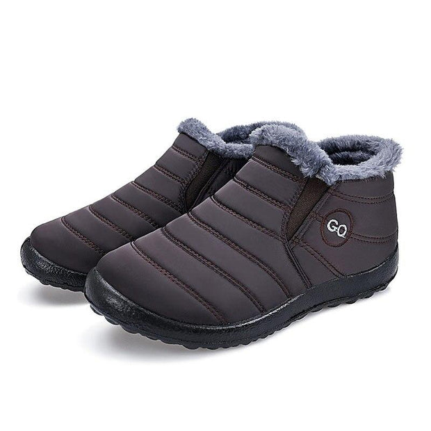 Man Comfortable Waterproof And Warm Snow Boots