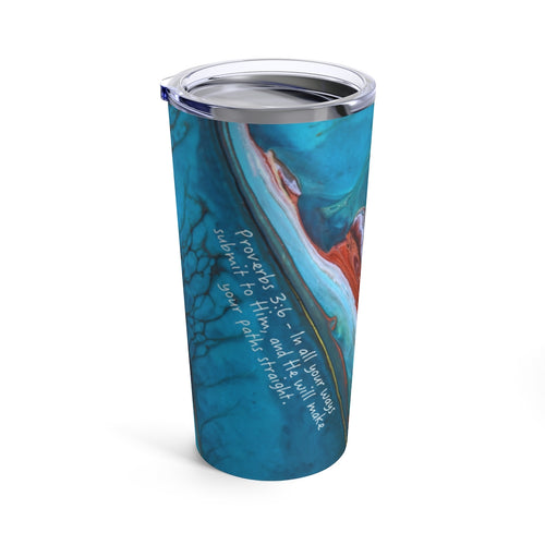 Proverbs 3:6 Travel Mug