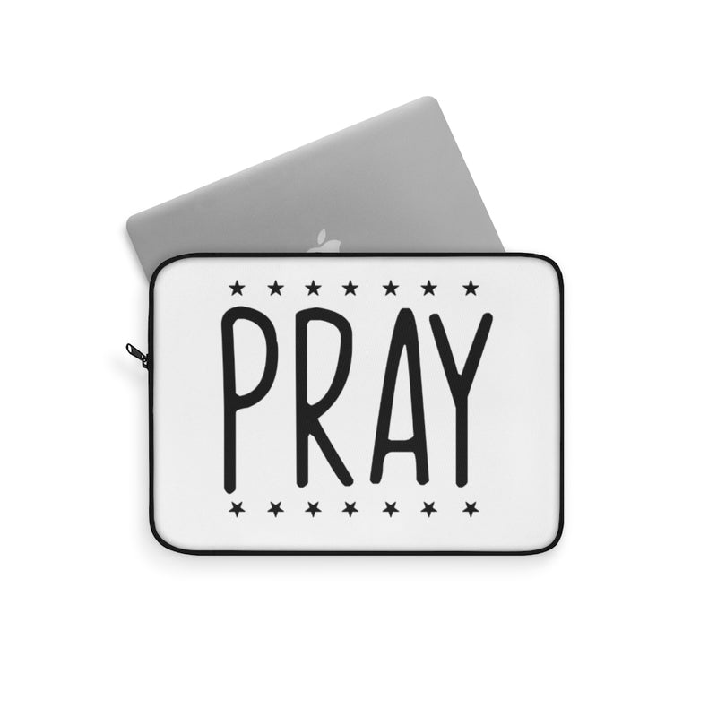 Pray Laptop Cover