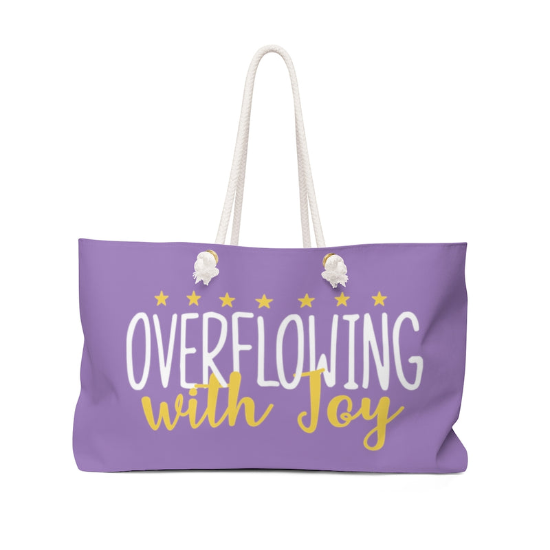 Overflowing With Joy Weekender Bag