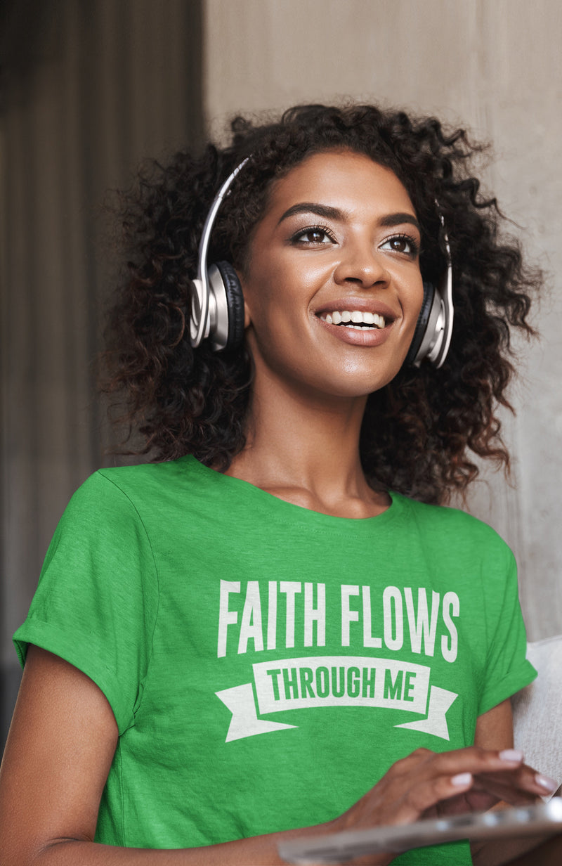 Faith Flows Through Me Unisex T-Shirt