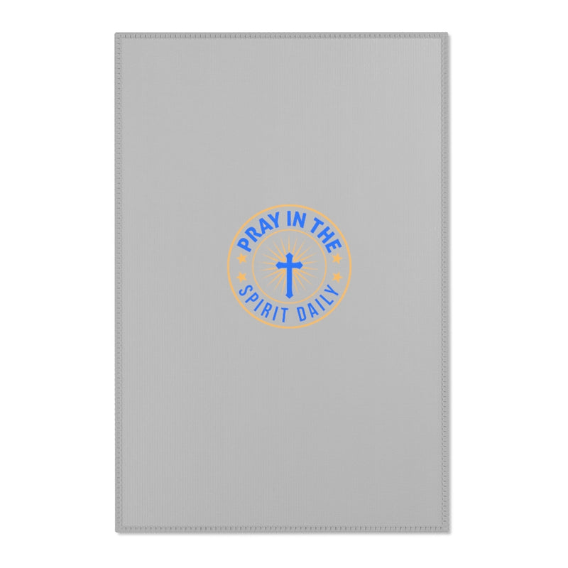 Pray In The Spirit Daily Area Rug