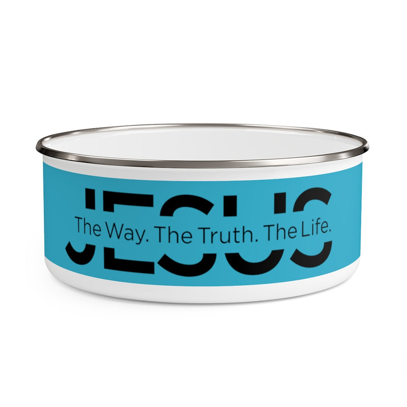 Jesus | The Way, The Truth, The Life Pet-Food Bowl