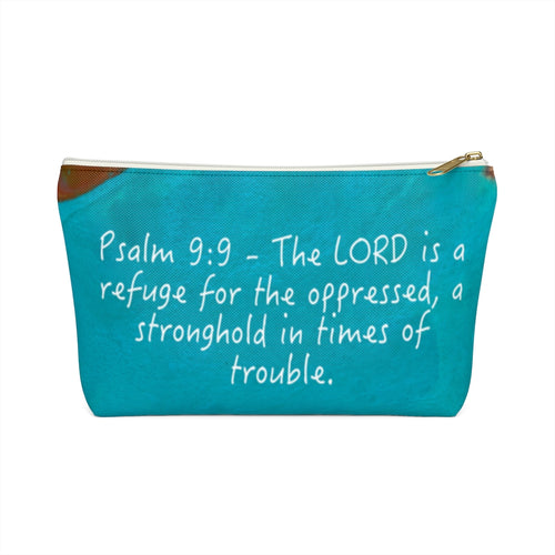 Psalm 9:9 Toiletry Bag