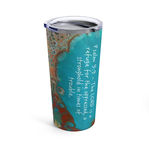 Psalm 9:9 Travel Mug