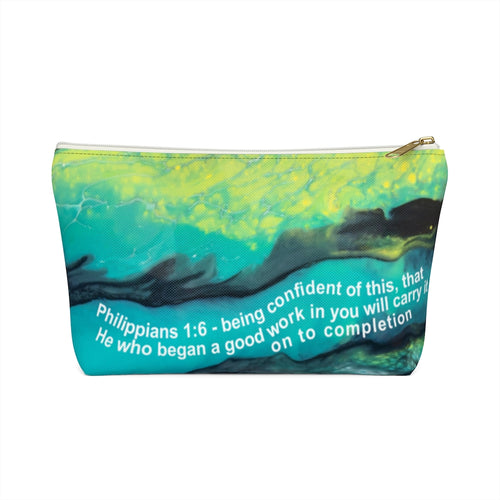 Philippians 1:6 Toiletry Bag