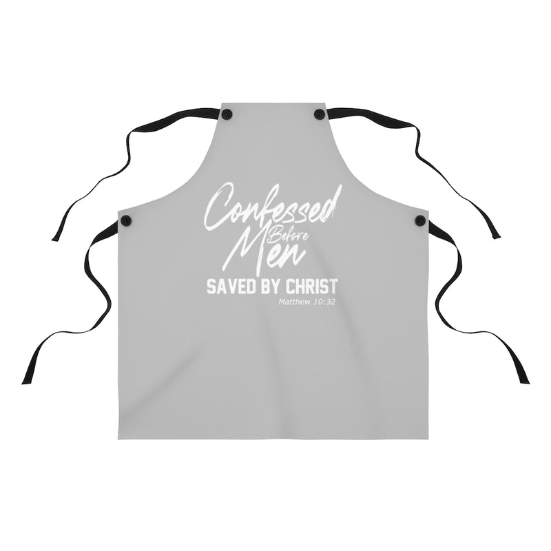 Confessed Before Men, Saved By Christ | Matthew 10:32 Apron