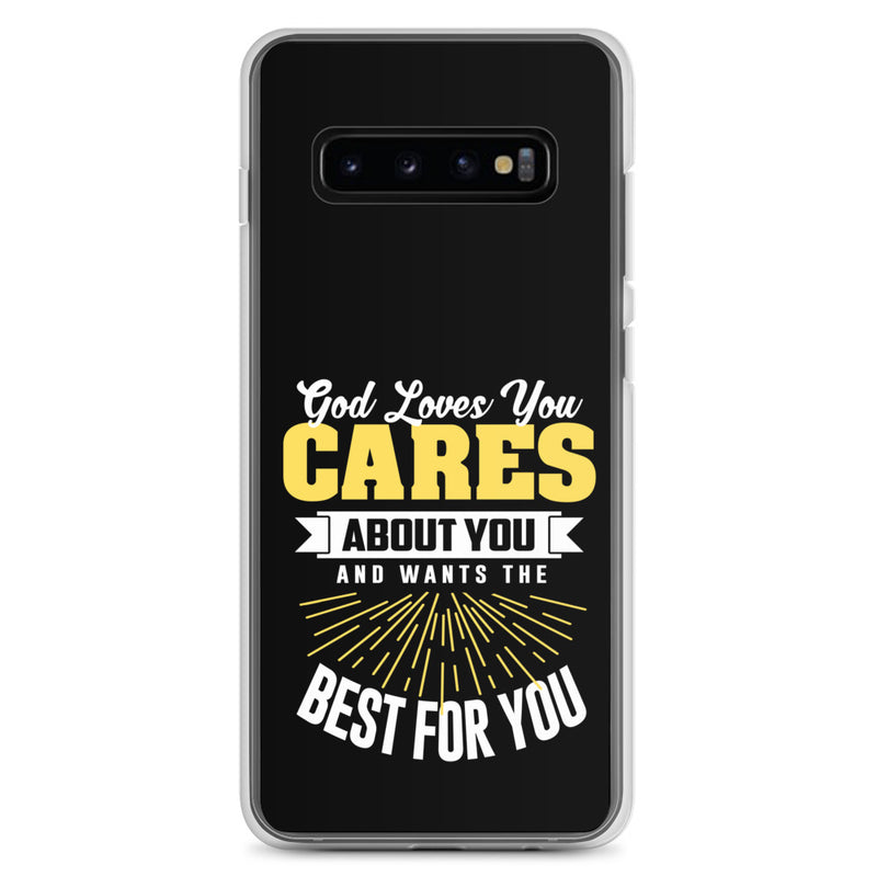 God Wants The Best For You Samsung Case