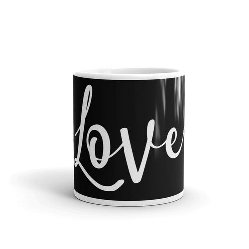 Love Black-Gloss Mug