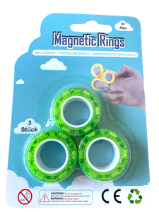 Magnetic Rings Glitzer